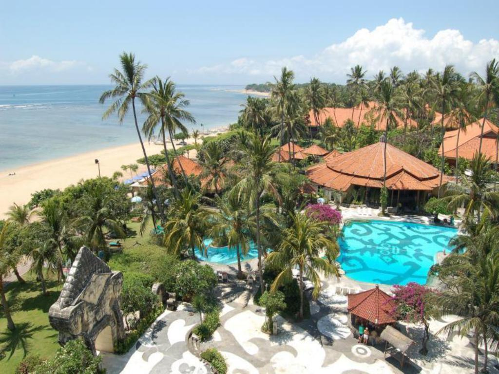 Best price on inna grand bali beach hotel in bali reviews for Garden rooms reviews