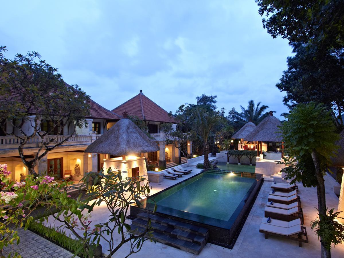 Hotell Griya Santrian Hotel