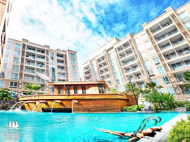 Atlantis condo water park pattaya by the sea jomtien for Atlantis condo