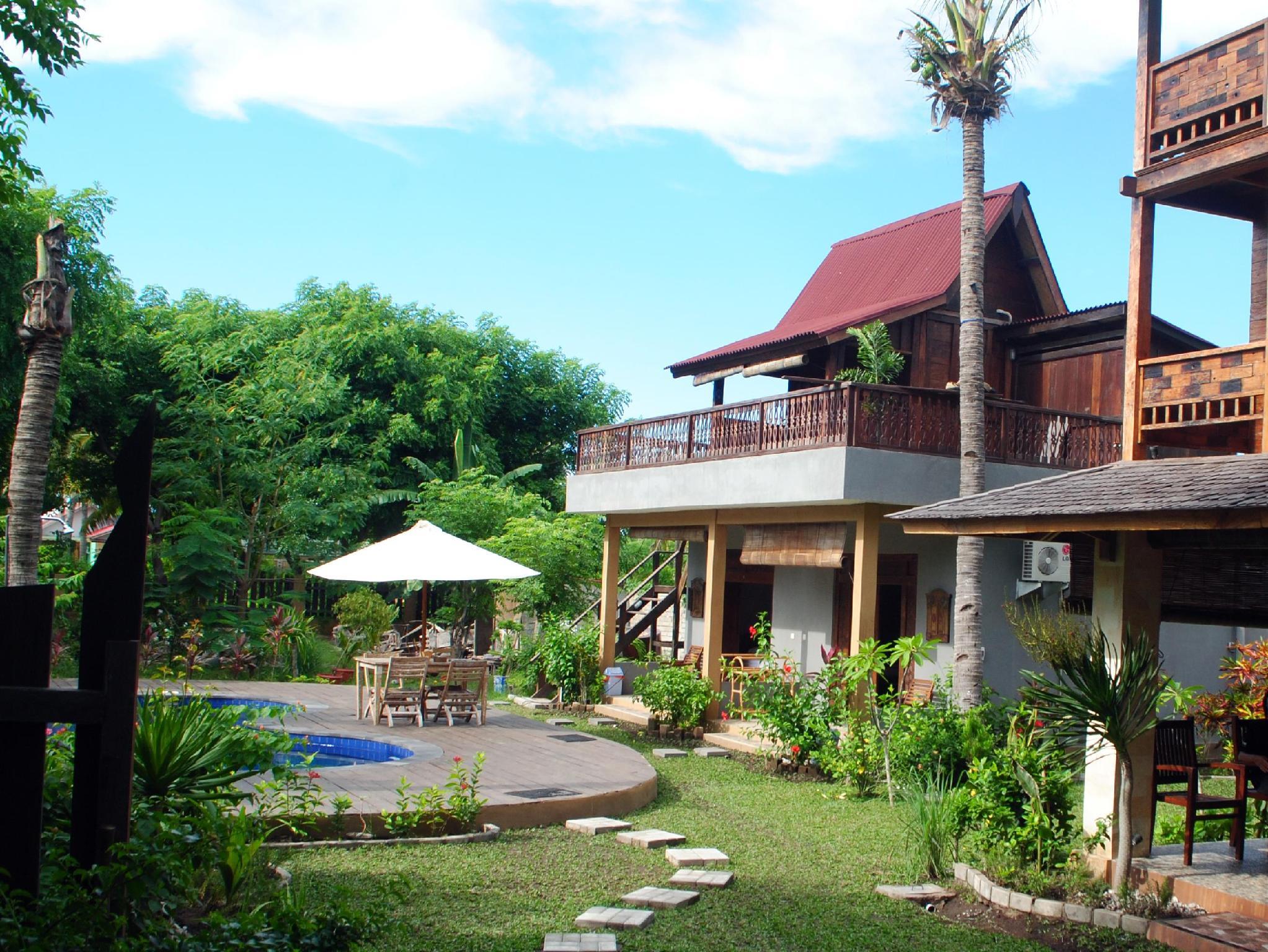 Villa Rumah Kayu - Gili Trawangan - Hotels and Accommodation in Indonesia, Asia