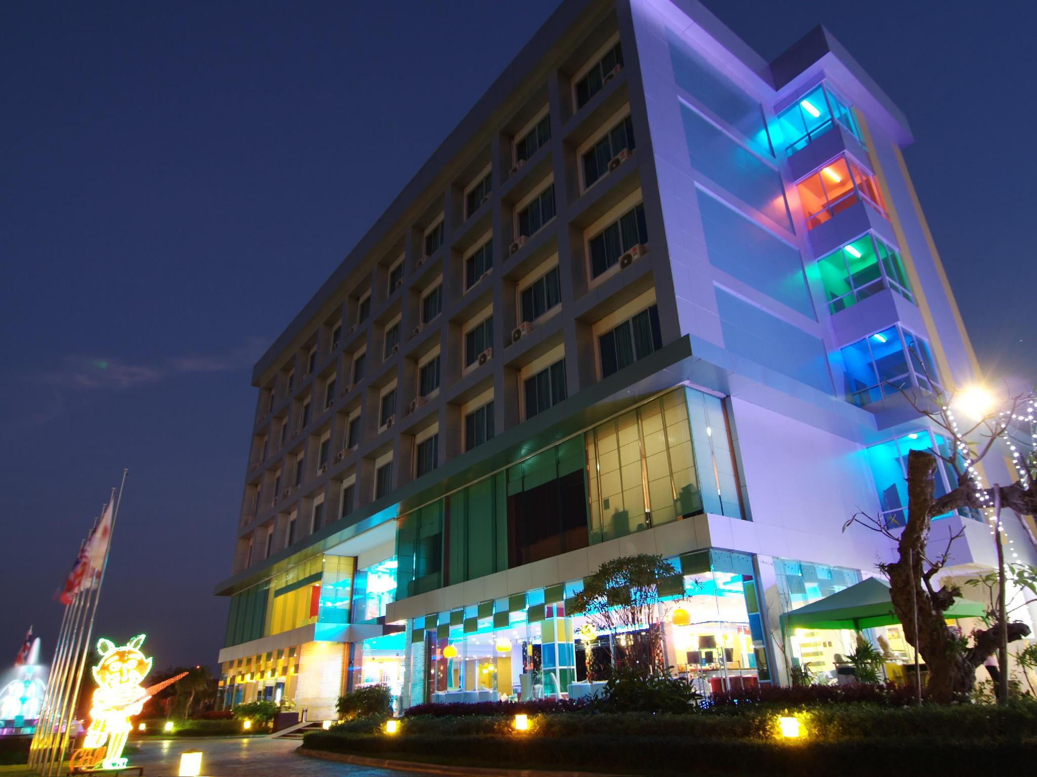 Hotell V-One Hotel Korat i , Khao Yai / Nakhonratchasima. Klicka för att läsa mer och skicka bokningsförfrågan