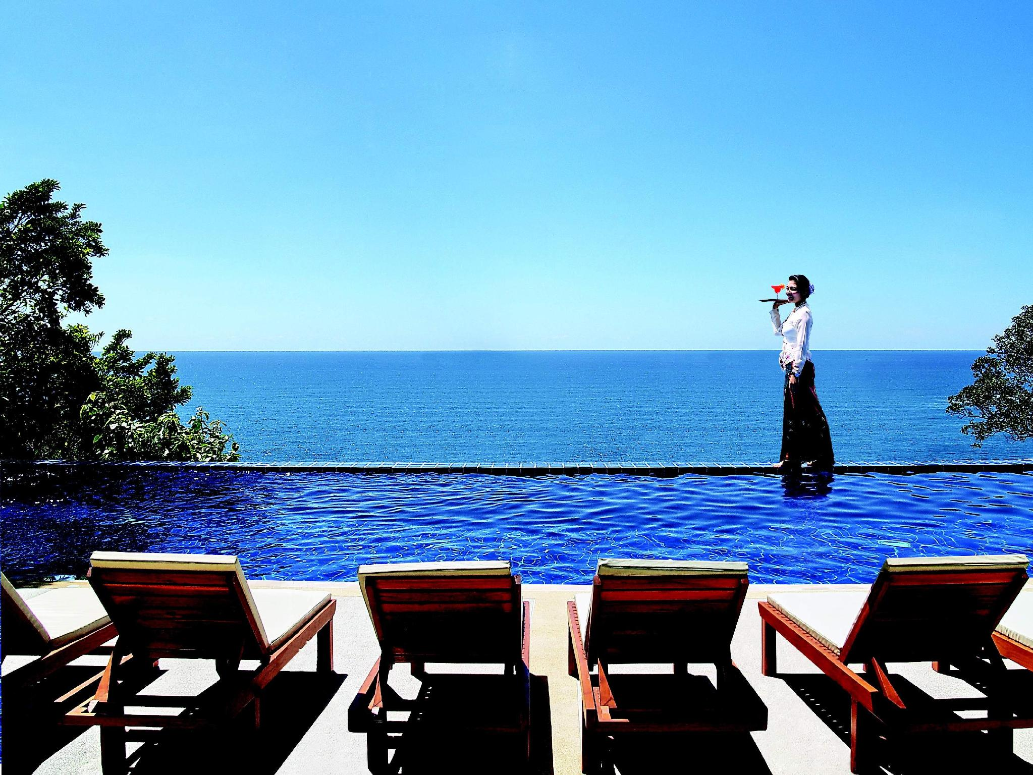 Secret Cliff Resort & Restaurant Phūketa - Peldbaseins