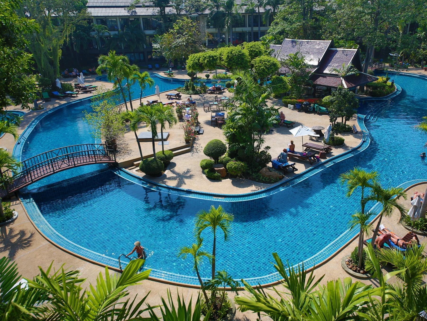 The Green Park Resort - Hotels and Accommodation in Thailand, Asia
