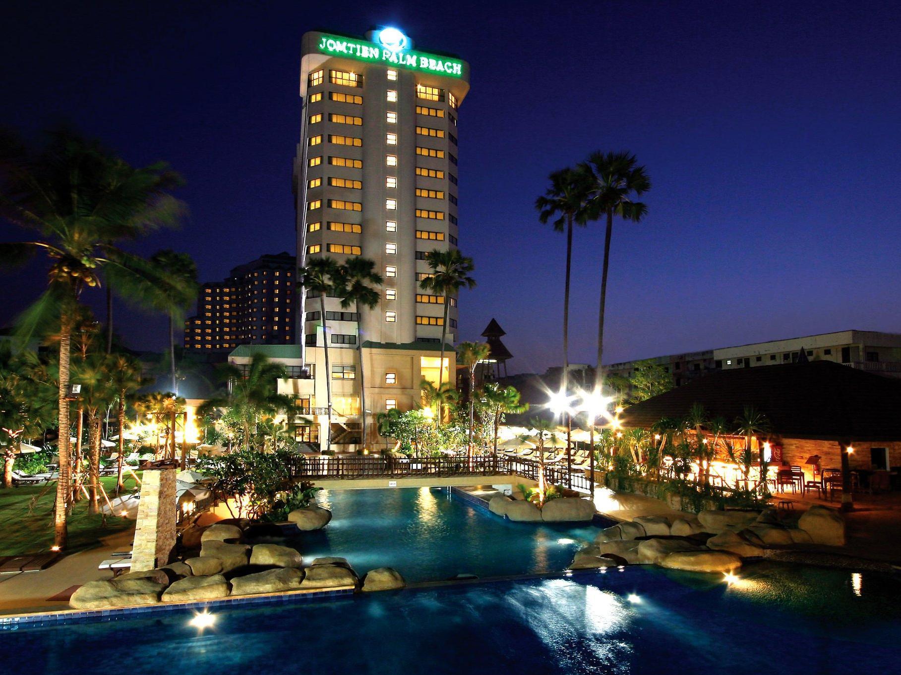 Jomtien Palm Beach Hotel And Resort Pattaya Thailand