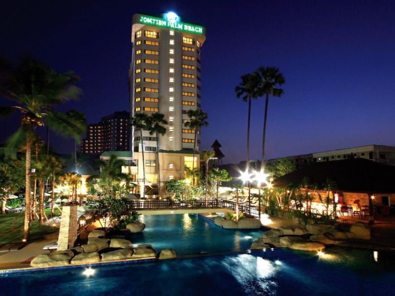 Jomtien Palm Beach Hotel And Resort Pattaya