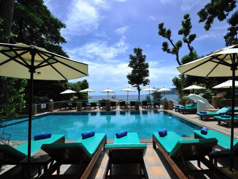 Tri Trang Beach Resort Phuket - Private beach