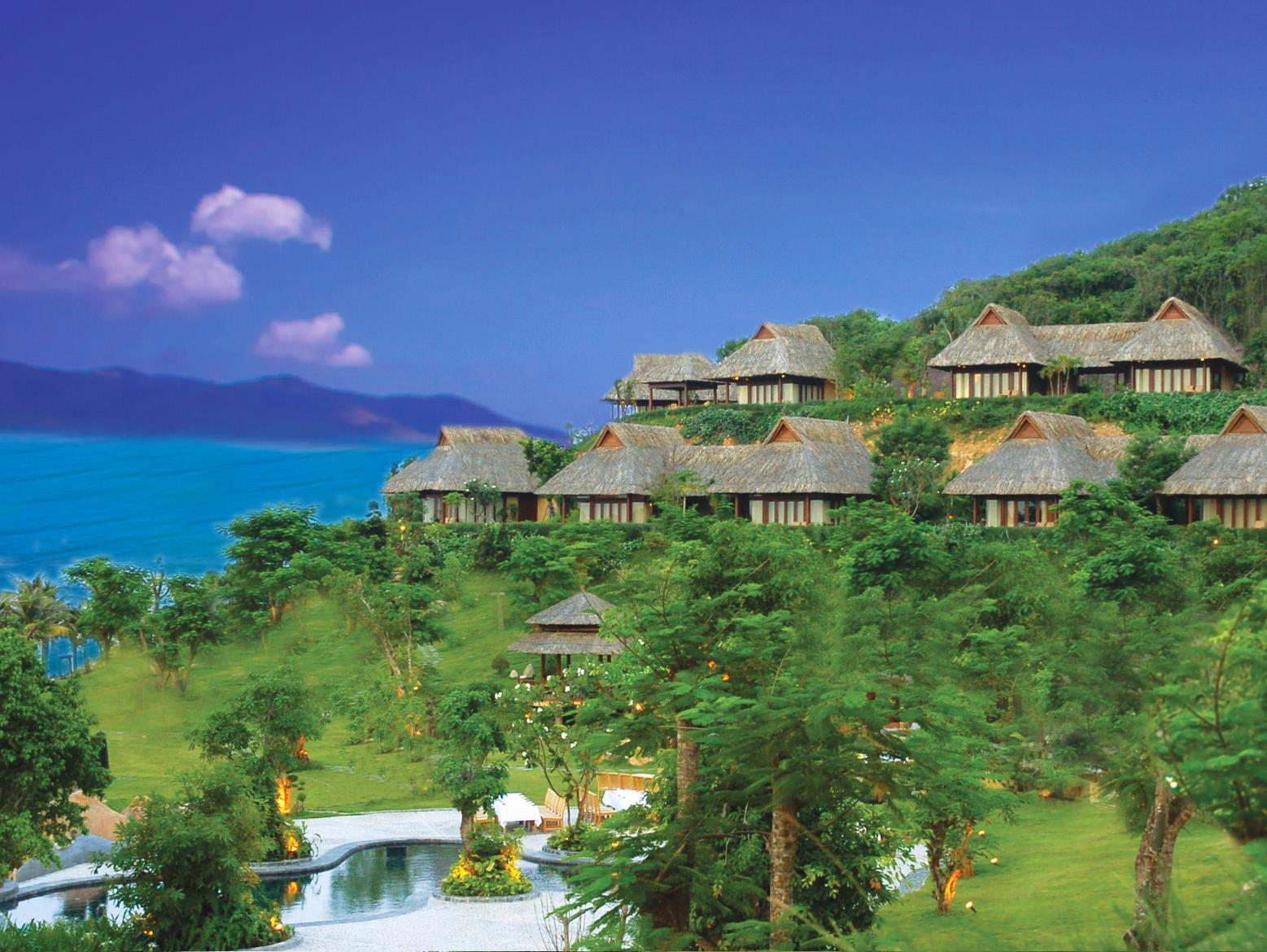 Hotell Hon Tam Resort - Eco Green Island