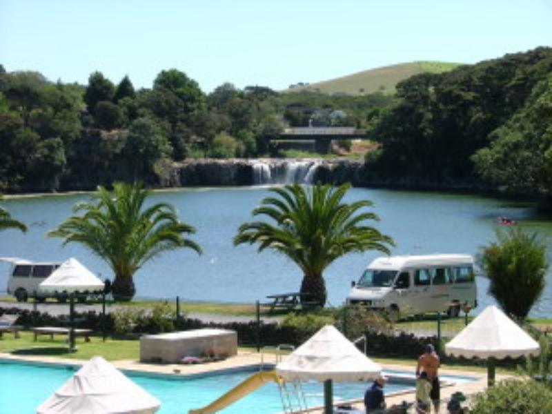 Haruru Falls Camping Resort  - Hotels and Accommodation in New Zealand, Pacific Ocean And Australia