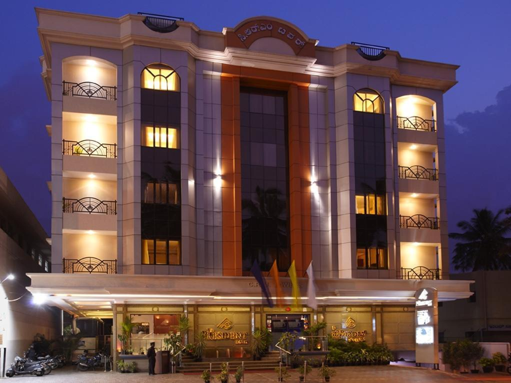 The President Hotel - Hotel and accommodation in India in Bengaluru / Bangalore