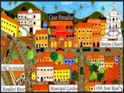 Casa Paradiso Hotel - Hotell och Boende i Indien i Goa