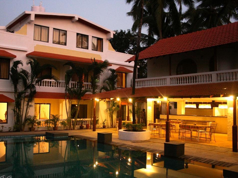Casablanca Beach Resort - Hotell och Boende i Indien i Goa