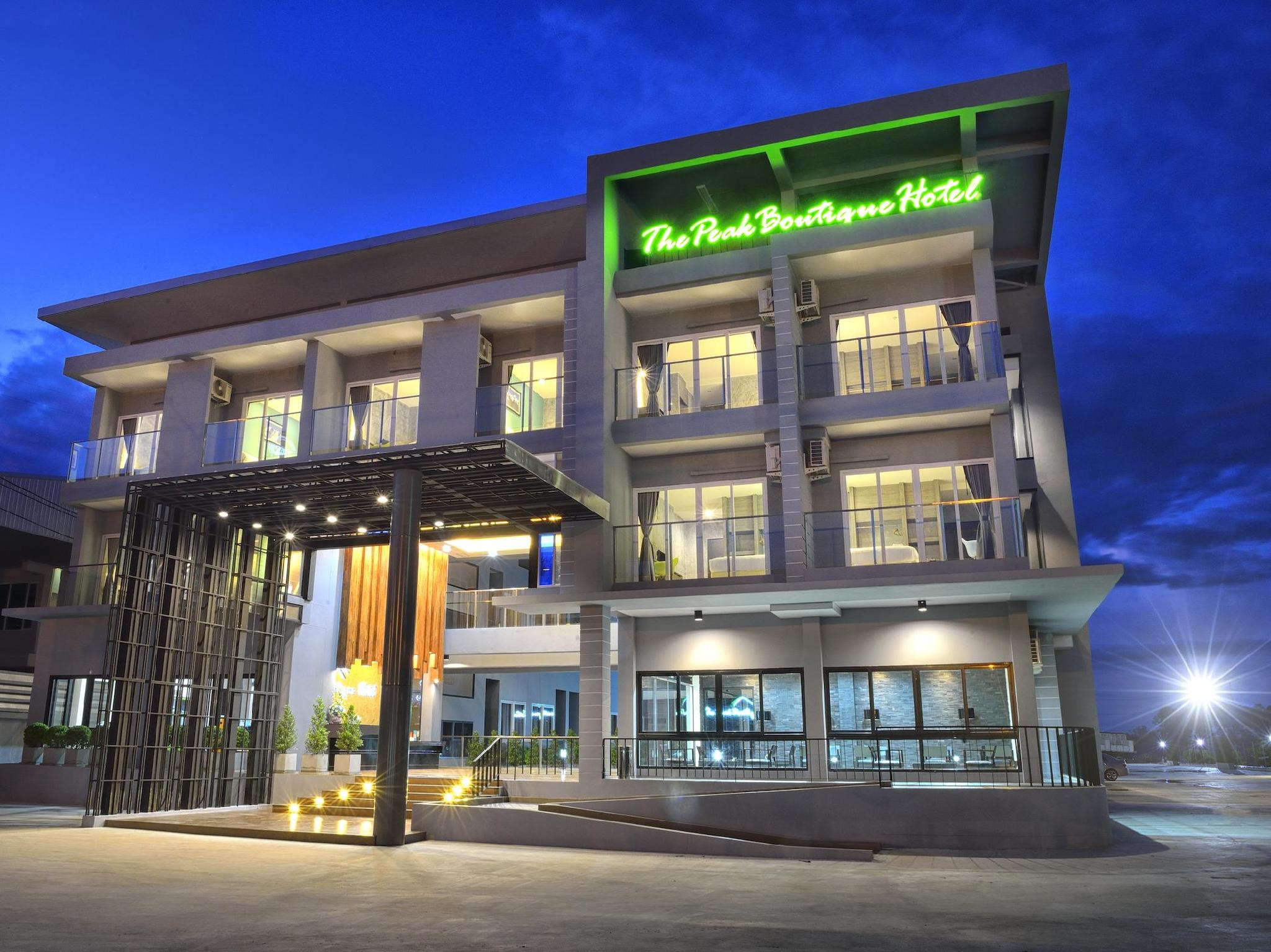 The peak boutique hotel phra phrom nakhon si thammarat for Great boutique hotels