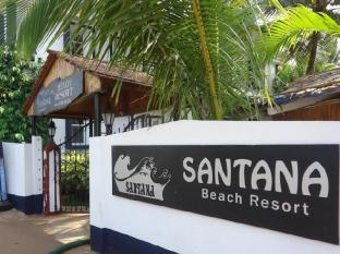 Santana Beach Resort North Goa - Entrance