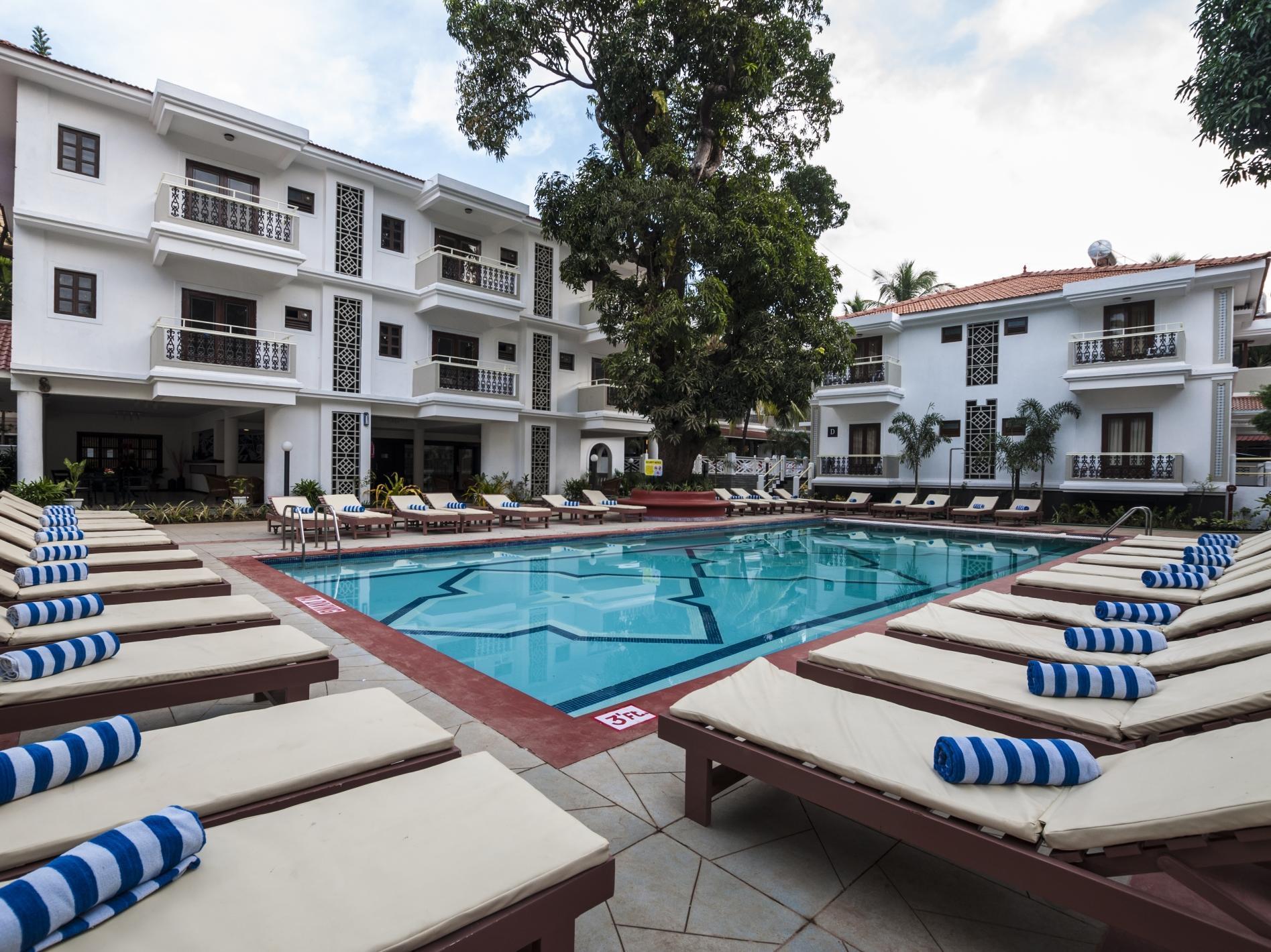 Victor Exotica Beach Resort Goa - Hotell och Boende i Indien i Goa