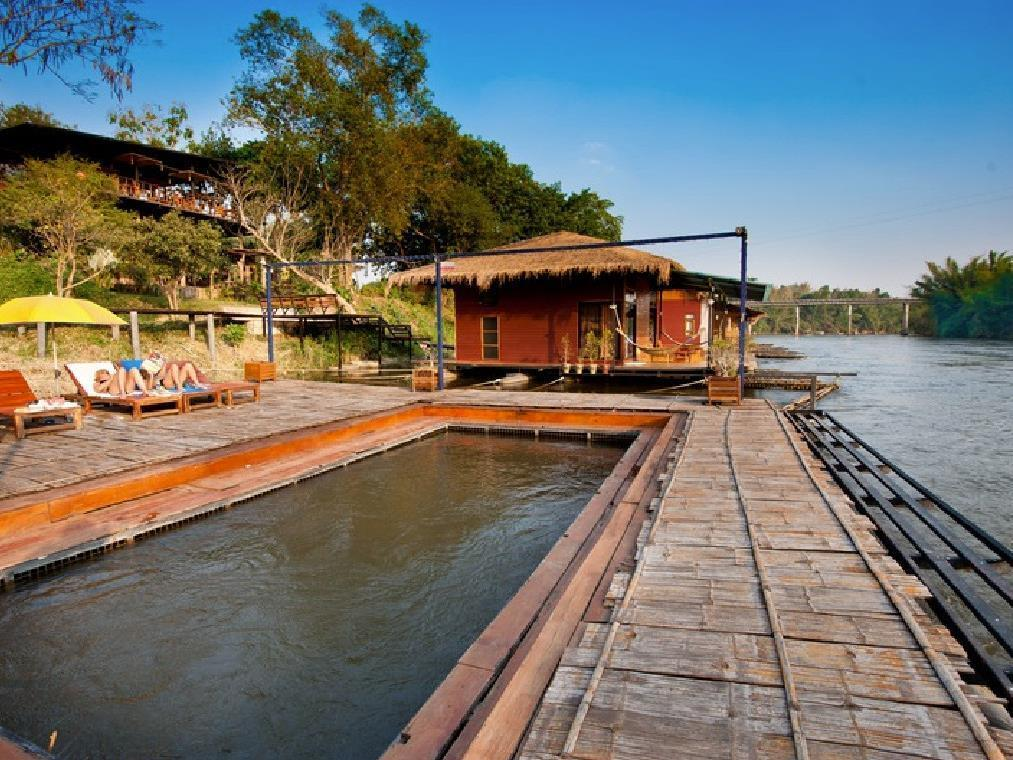 Boutique Raft Resort River Kwai - Hotels and Accommodation in Thailand, Asia