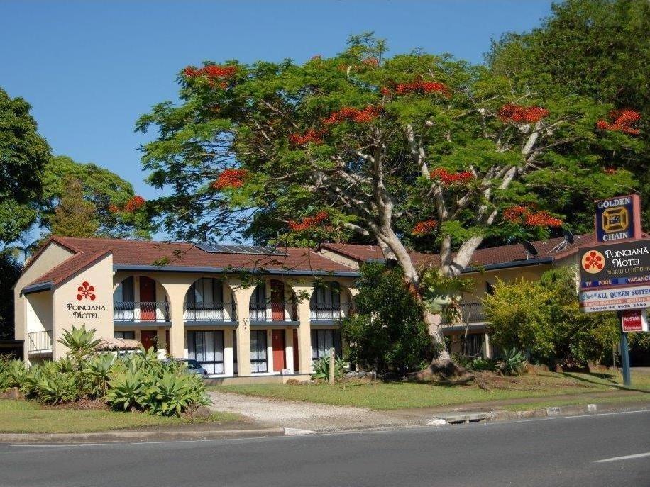 Poinciana Motel - Hotell och Boende i Australien , Murwillumbah
