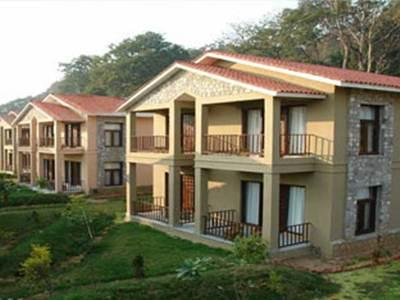 Corbett Tiger Den Resort - Hotell och Boende i Indien i Corbett