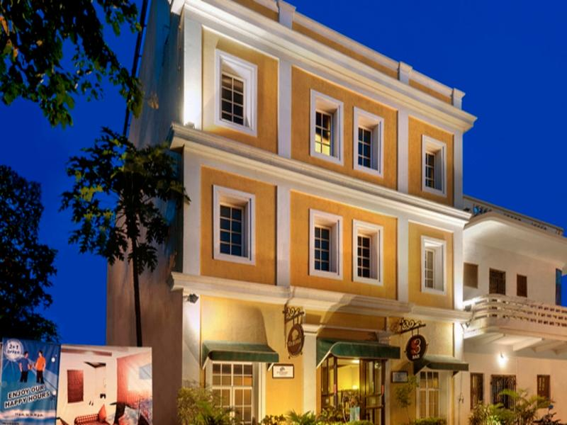 The Richmond - Hotel and accommodation in India in Pondicherry