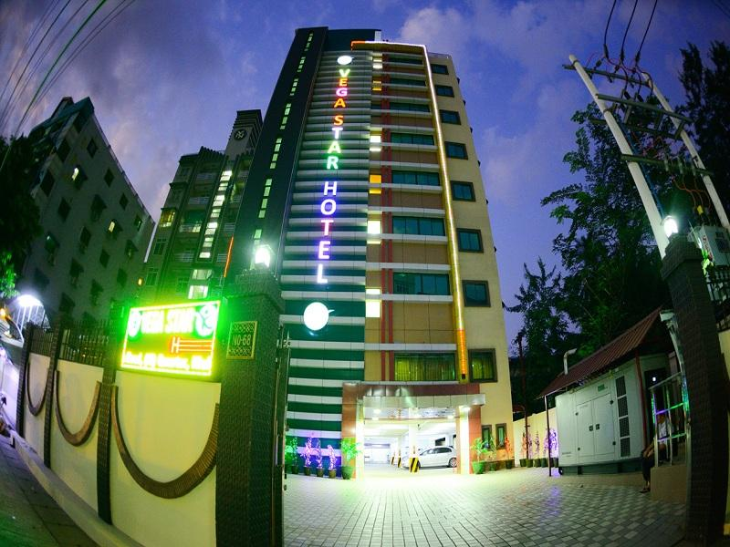 Vega Star Hotel - Hotels and Accommodation in Myanmar, Asia