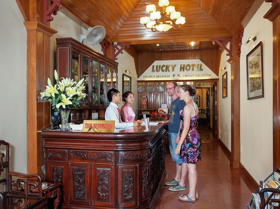 Hotell Lucky Hotel Hang Trong Street