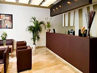 Eurostars Embassy Dunaj - recepcija