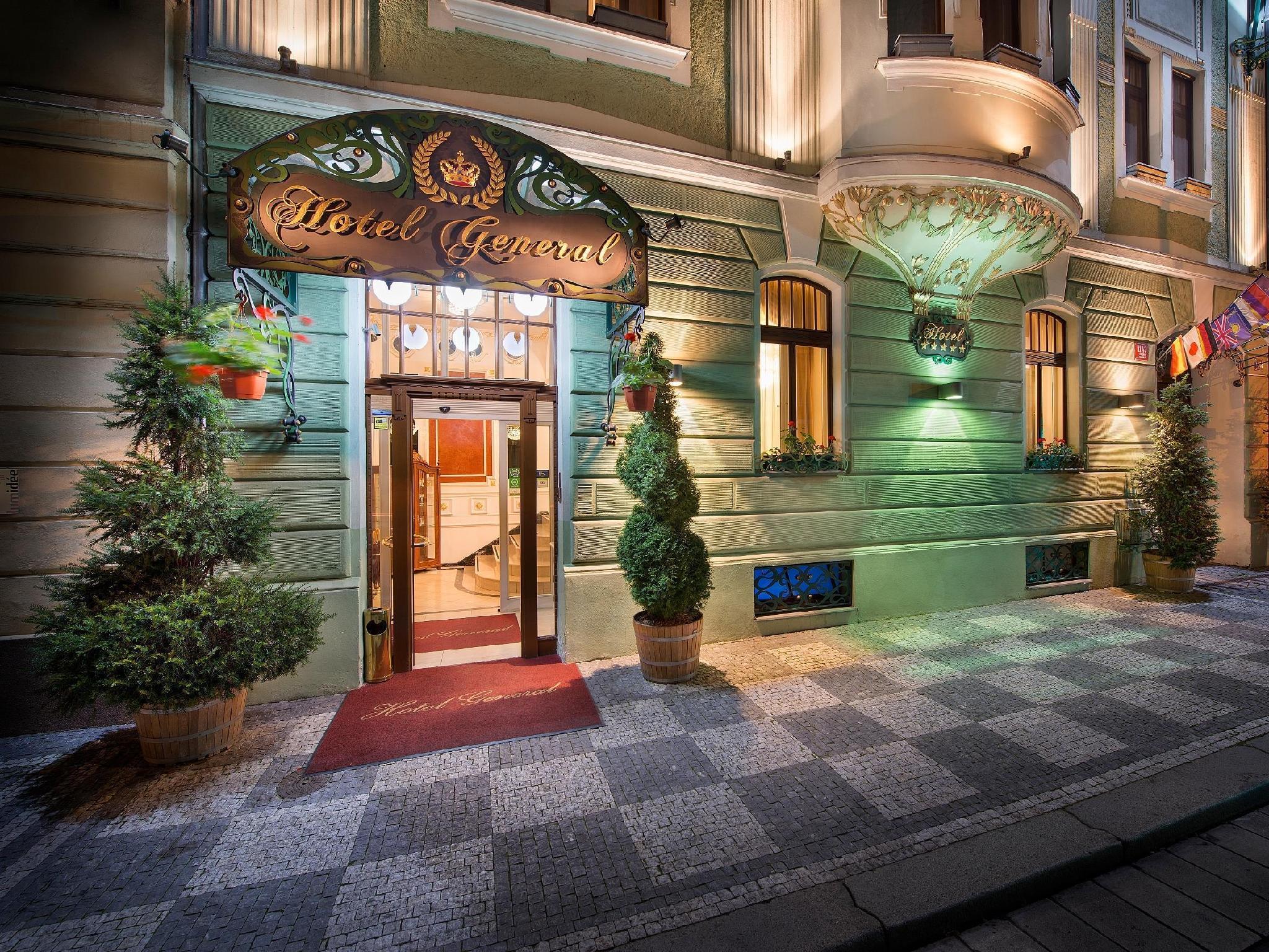 Hotel General Praha - Exteriér hotelu