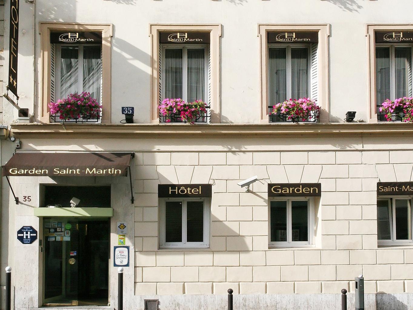 Garden Saint Martin Hotel - Hotell och Boende i Frankrike i Europa