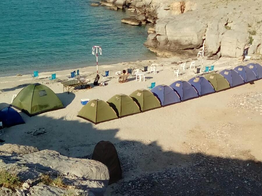 Khasab Beach Camping - Hotels and Accommodation in Oman, Middle East