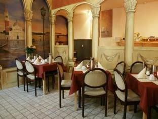Hotel Pension Canaletto برلين - المطعم