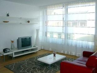 Inn Sight City Apartments Potsdamer Platz ברלין - חדר שינה