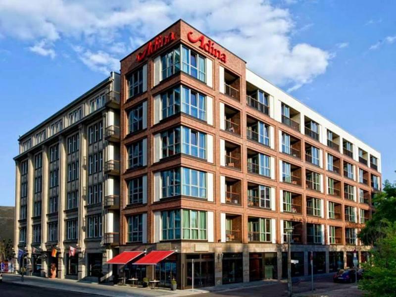 Adina Apartment Hotel Berlin Checkpoint Charlie - Hotell och Boende i Tyskland i Europa