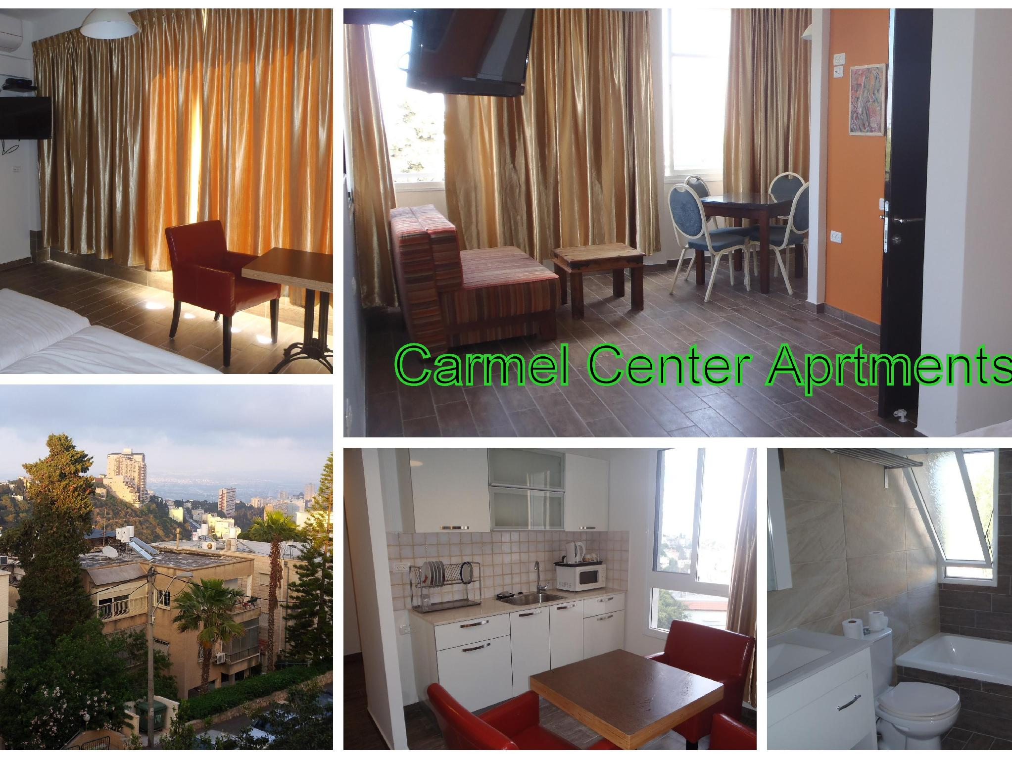 Marom Carmel Center Apartments - Hotels and Accommodation in Israel, Middle East
