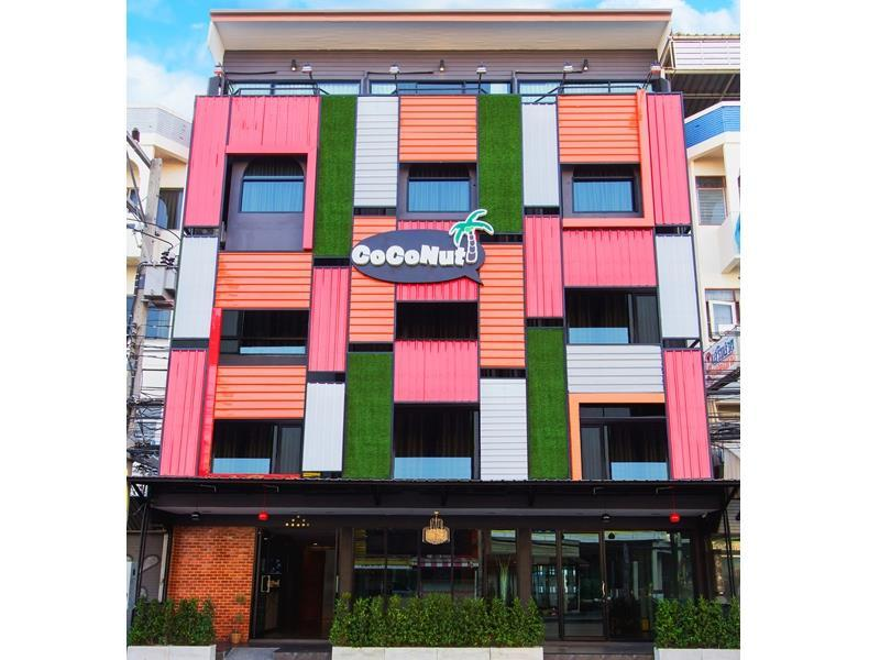 Coconut Budget & Boutique Hua Hin - Hotell och Boende i Thailand i Asien