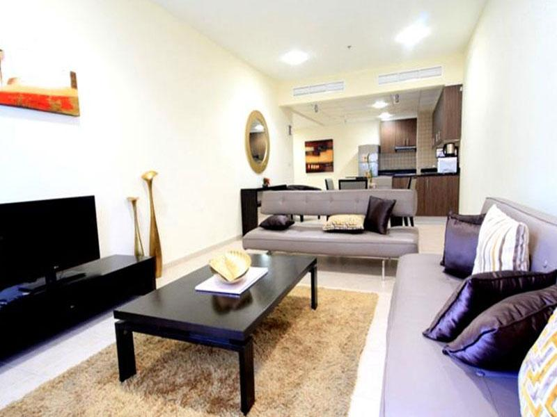 Dubai Apartments - Elite Residences Beautiful Furnished One BR Apartment - Hotels and Accommodation in United Arab Emirates, Middle East