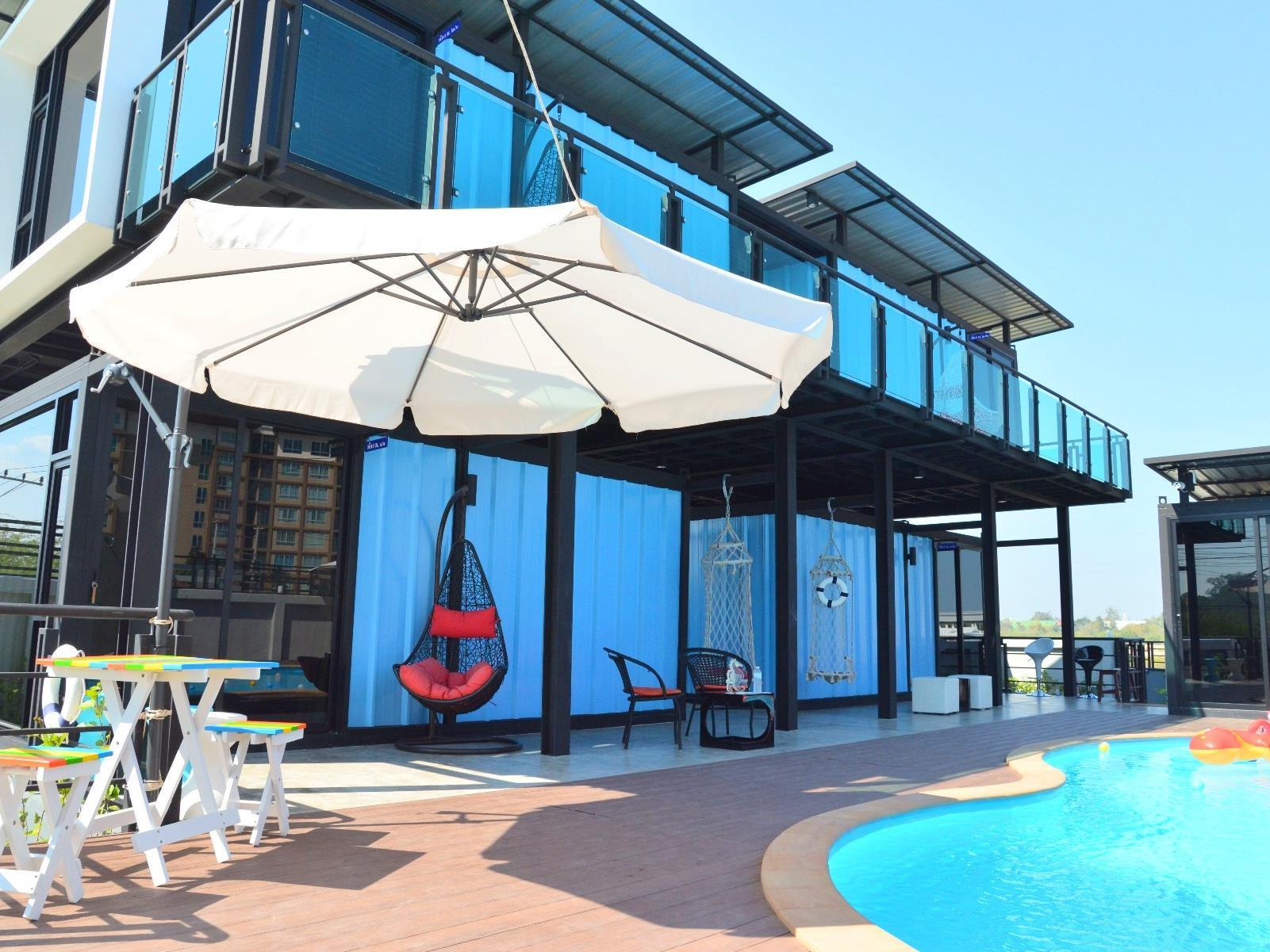Blue Container Pool Villa - Hotels and Accommodation in Thailand, Asia