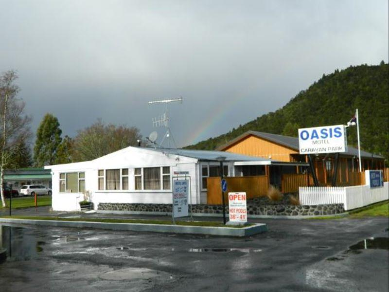 Oasis Motel Tokaanu - Hotels and Accommodation in New Zealand, Pacific Ocean And Australia
