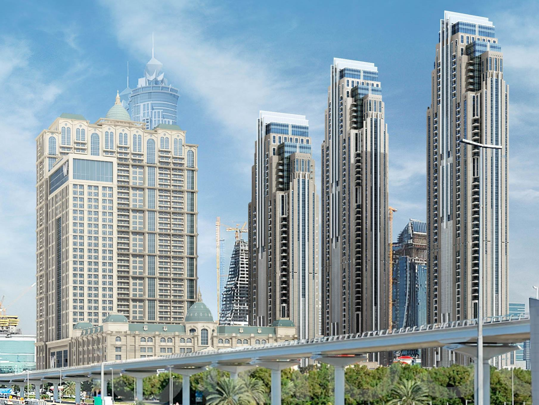 W Dubai Al Habtoor City - Hotels and Accommodation in United Arab Emirates, Middle East