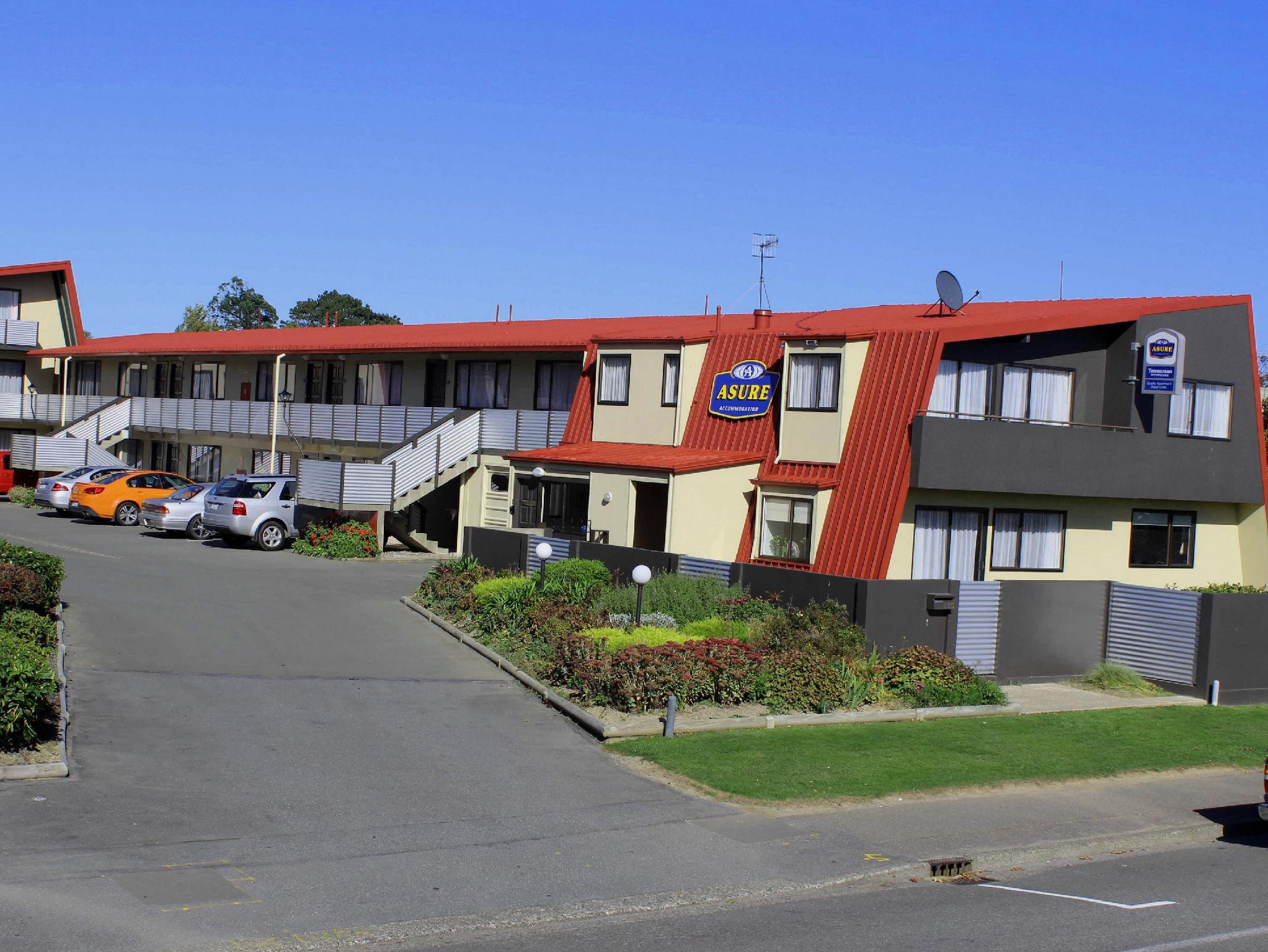 Asure Townsman Motor Lodge - Hotels and Accommodation in New Zealand, Pacific Ocean And Australia