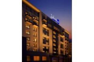 ラディソン ブリュー ブカレスト ホテルの外観