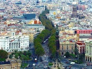 Flor Parks Hotel Barcelona - View