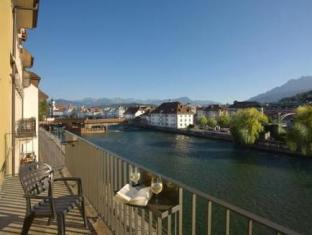 Tourist Hotel Luzern - Balcony/Terrace