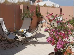 فندق رياض نرجا مراكش - بلكون/شرفة