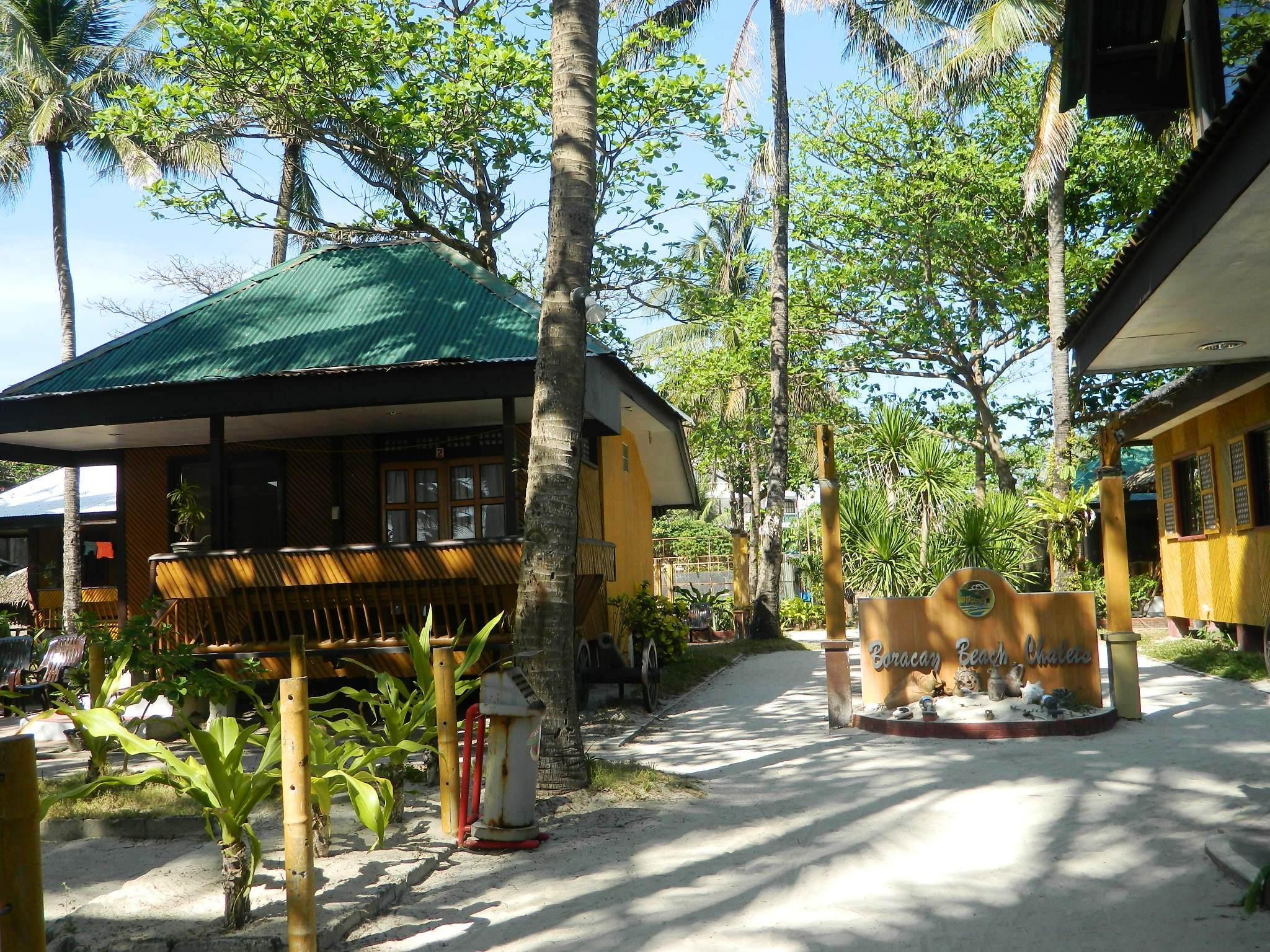 Hotell Boracay Beach Chalets Hotel