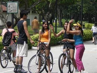 Goldkist Beach Resort Singapore - Cycle Track