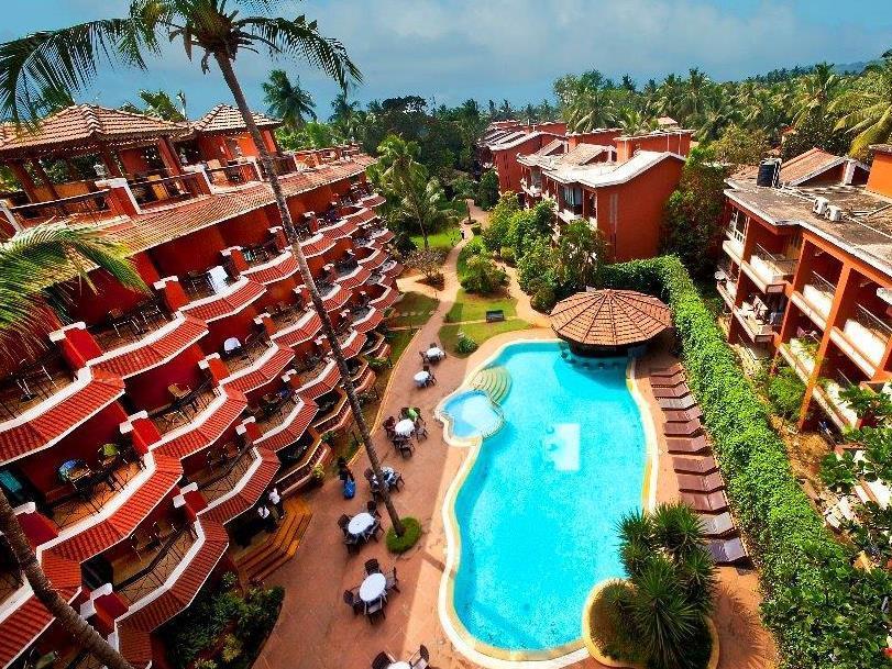 The Baga Marina Beach Resort   Hotel - Hotell och Boende i Indien i Goa