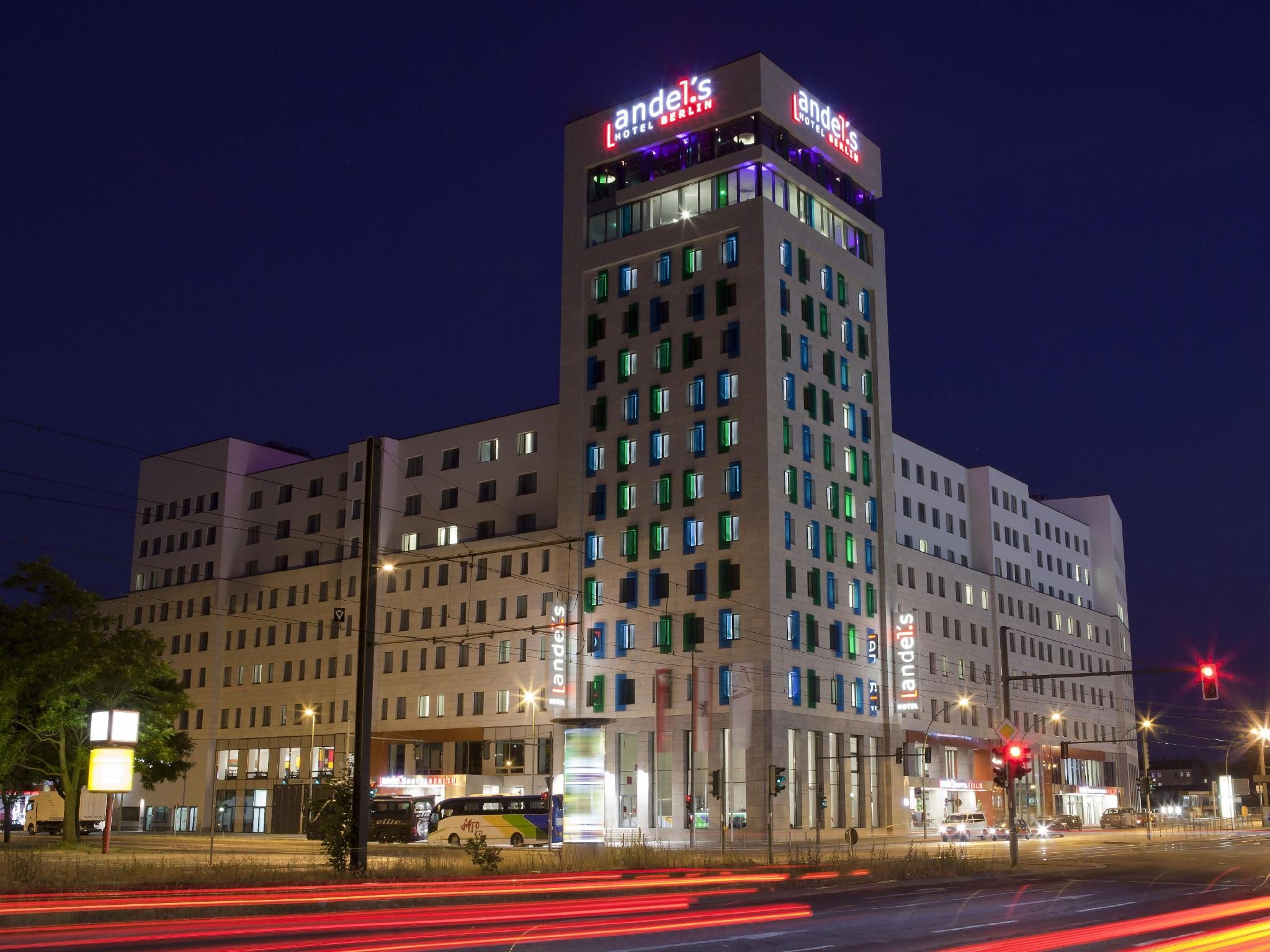 andel's Hotel Berlin, managed by Vienna International Hotels and Resorts Berlin - Widok