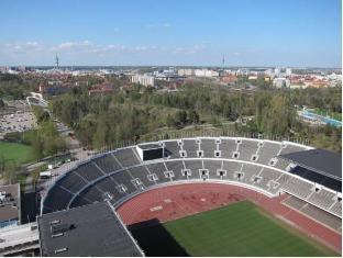 Stadion Hostel Helsinki - Surroundings