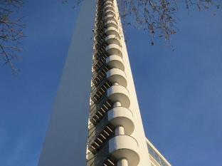 Stadion Hostel Helsinki - Tower reaching up to the sky