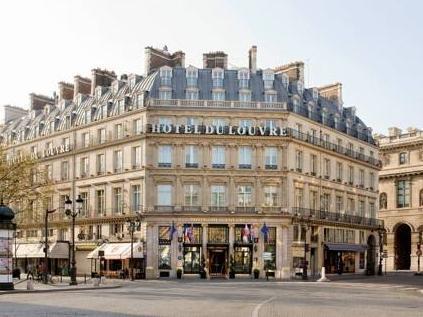 Hotel du Louvre Paris - Exterior