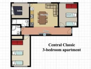 Classic Apartments Suur Karja 18 טלין - נוף